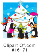 Royalty-Free (RF) christmas Clipart Illustration #16171