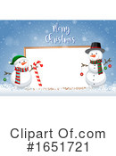 Christmas Clipart #1651721 by Graphics RF