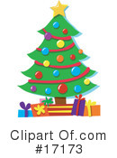 Royalty-Free (RF) Christmas Clipart Illustration #17173