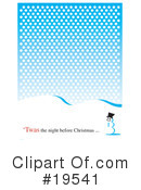 Royalty-Free (RF) Christmas Clipart Illustration #19541