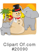 Royalty-Free (RF) Christmas Clipart Illustration #20090