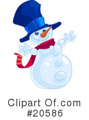 Royalty-Free (RF) Christmas Clipart Illustration #20586