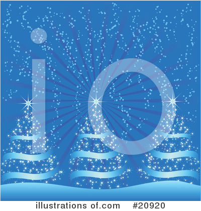 Royalty-Free (RF) Christmas Clipart Illustration by elaineitalia - Stock Sample #20920