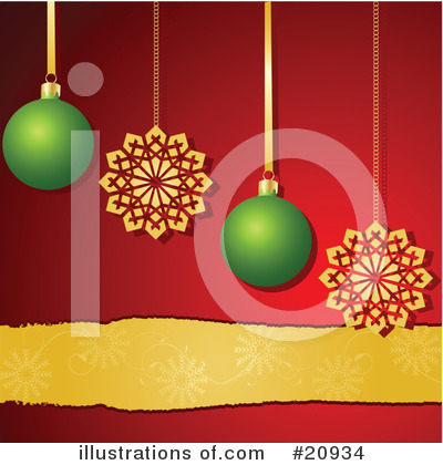 Royalty-Free (RF) Christmas Clipart Illustration by elaineitalia - Stock Sample #20934