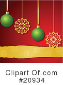 Royalty-Free (RF) Christmas Clipart Illustration #20934