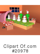 Royalty-Free (RF) christmas Clipart Illustration #20978