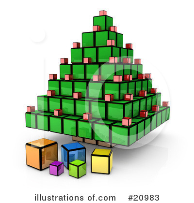 Cubes Clipart #20983 by 3poD