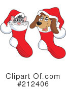 Royalty-Free (RF) Christmas Clipart Illustration #212406