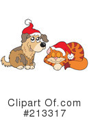 Royalty-Free (RF) Christmas Clipart Illustration #213317