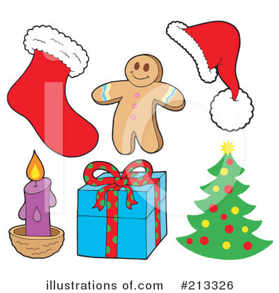 Gingerbread Man Clipart #213326 by visekart