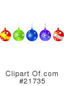 Royalty-Free (RF) Christmas Clipart Illustration #21735