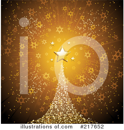 Royalty-Free (RF) Christmas Clipart Illustration by Elaine Barker - Stock Sample #217652