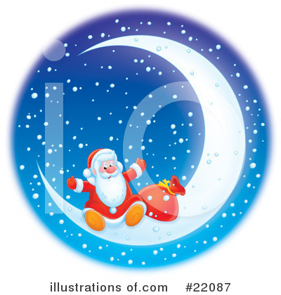 Royalty-Free (RF) Christmas Clipart Illustration by Alex Bannykh - Stock Sample #22087