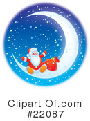 Royalty-Free (RF) christmas Clipart Illustration #22087
