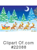 Royalty-Free (RF) christmas Clipart Illustration #22088