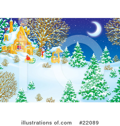 Snowman Clipart #22089 by Alex Bannykh