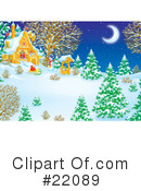 Royalty-Free (RF) christmas Clipart Illustration #22089