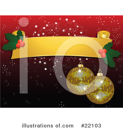 Royalty-Free (RF) Christmas Clipart Illustration by elaineitalia - Stock Sample #22103