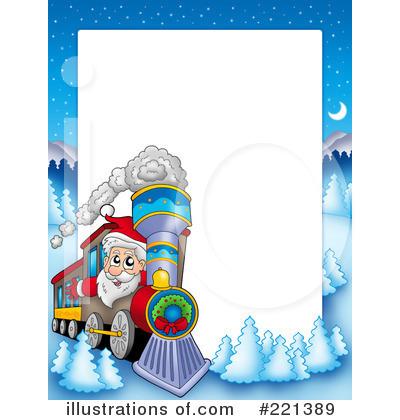 Polar Express Clip Art Border