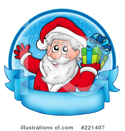 Royalty-Free (RF) Christmas Clipart Illustration by visekart - Stock Sample #221407