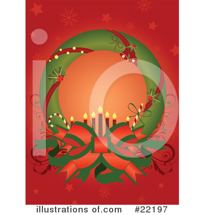 Royalty-Free (RF) Christmas Clipart Illustration by OnFocusMedia - Stock Sample #22197