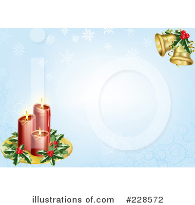 Christmas Bells Clipart #228572 by AtStockIllustration