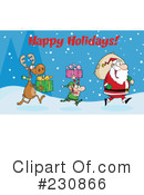 Christmas Clipart #230866 by Hit Toon