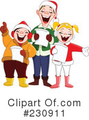 Royalty-Free (RF) Christmas Clipart Illustration #230911