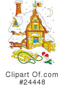 Royalty-Free (RF) christmas Clipart Illustration #24448