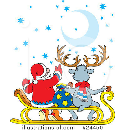 Royalty-Free (RF) Christmas Clipart Illustration by Alex Bannykh - Stock Sample #24450