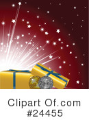 Royalty-Free (RF) Christmas Clipart Illustration #24455
