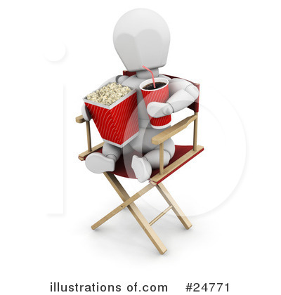 Directors Chair Clipart #24771 by KJ Pargeter