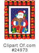 Royalty-Free (RF) christmas Clipart Illustration #24973