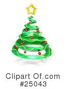 Royalty-Free (RF) Christmas Clipart Illustration #25043