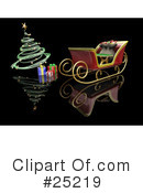 Royalty-Free (RF) Christmas Clipart Illustration #25219