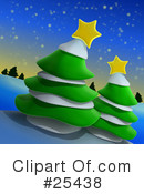 Royalty-Free (RF) Christmas Clipart Illustration #25438