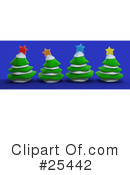 Royalty-Free (RF) Christmas Clipart Illustration #25442