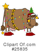 Royalty-Free (RF) Christmas Clipart Illustration #25835