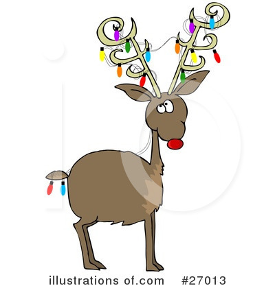 Royalty-Free (RF) Christmas Clipart Illustration by djart - Stock Sample #27013
