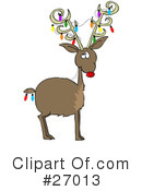 Royalty-Free (RF) christmas Clipart Illustration #27013