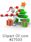 Royalty-Free (RF) Christmas Clipart Illustration #27033