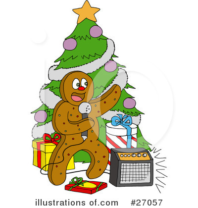 Christmas Clipart #27057 by LaffToon