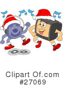 Christmas Clipart #27069 by LaffToon
