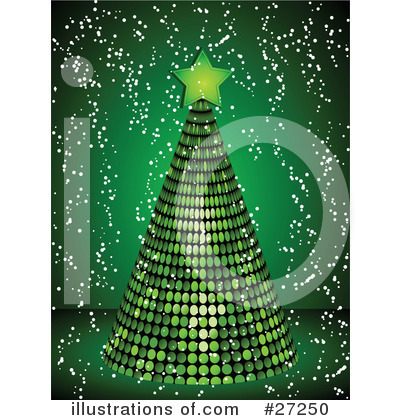 Christmas Tree Clipart #27250 by elaineitalia