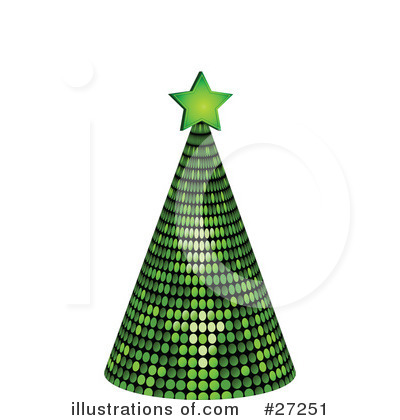 Christmas Tree Clipart #27251 by elaineitalia