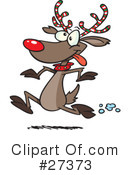 Royalty-Free (RF) Christmas Clipart Illustration #27373