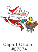Royalty-Free (RF) Christmas Clipart Illustration #27374