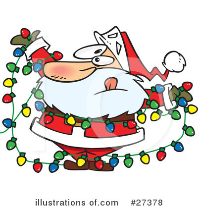 Santa Clipart #27378 by toonaday
