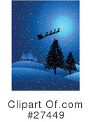 Royalty-Free (RF) Christmas Clipart Illustration #27449