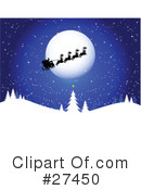 Royalty-Free (RF) Christmas Clipart Illustration #27450